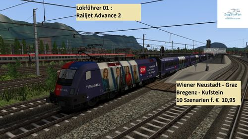 Loco driver 1: Railjet Advanced 2