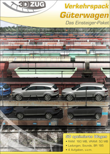 3DZug - Traffic pack - freight cars